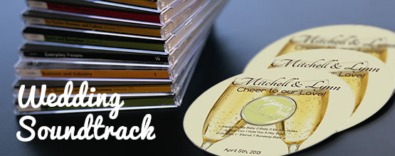 Custom Labeled CD Wedding Soudtrack