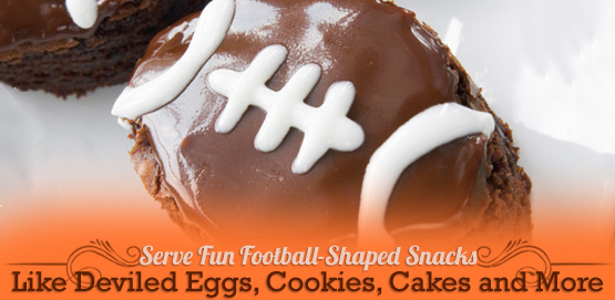 Football-Themed Snacks for your Viewing Party
