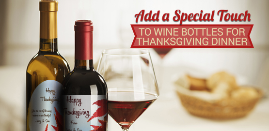 Wine Labels for Fall Holidays